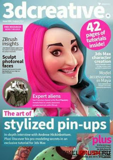 3DCreative Magazine Issue 96 August 2013