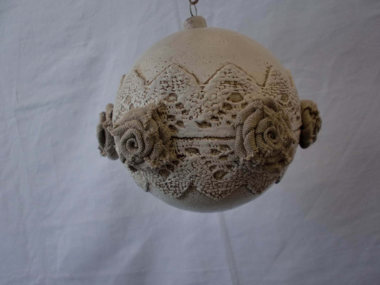 shabby chic natale 2012 natale shabby chic palle country chic palline ...