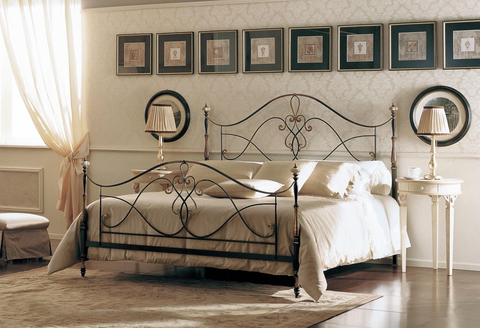 Purpurina nas vaidosas inspira o cama de ferro - Camas antiguas de hierro ...