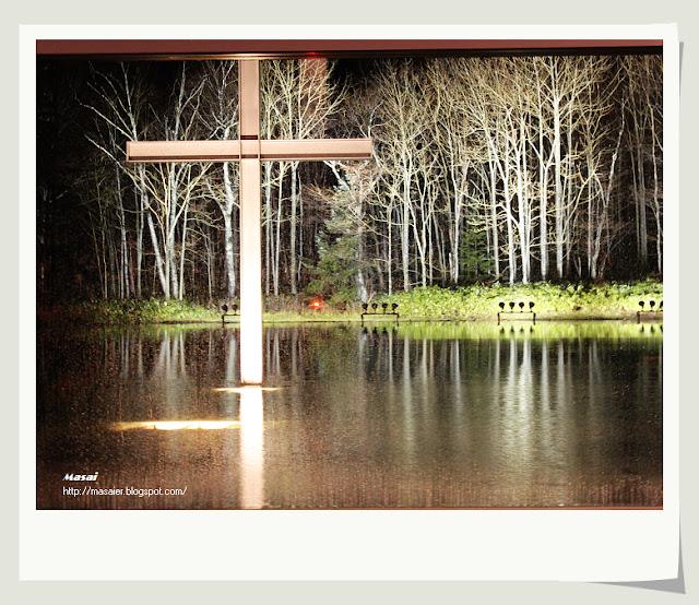 北海道星野度假村-水教堂 (梁靜茹崇拜MV拍攝地)1