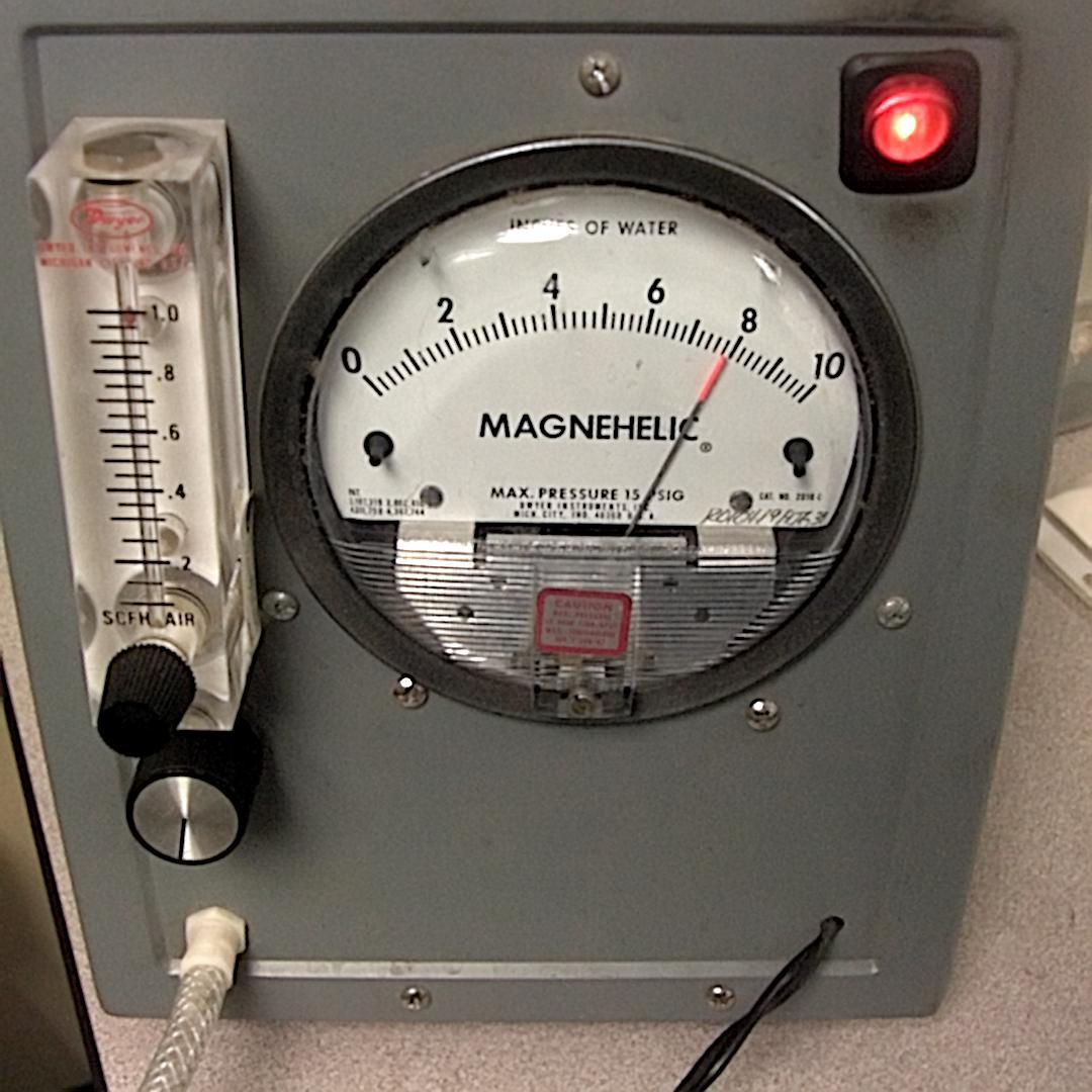 showing machine