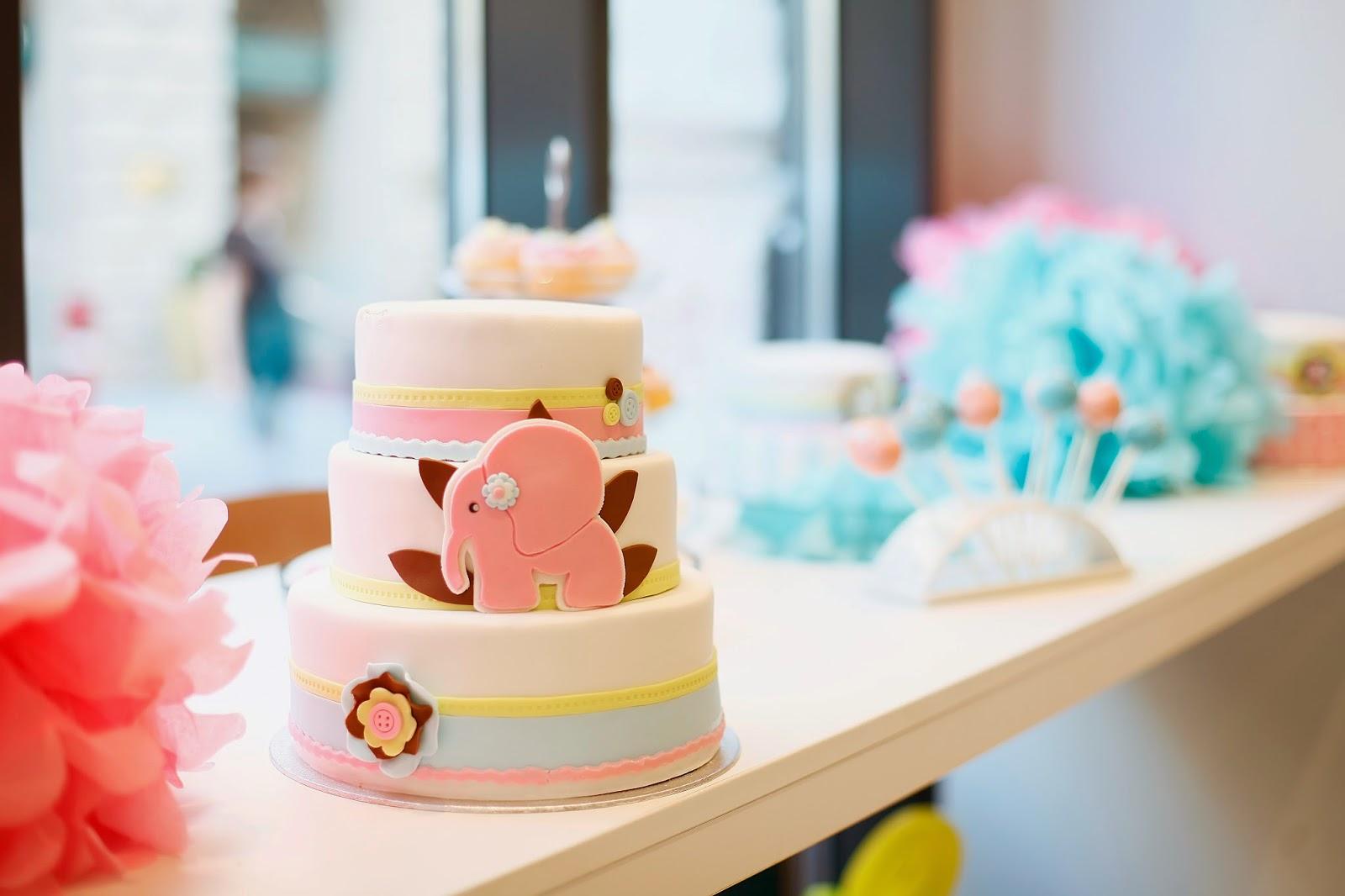 The Cake születésnapi tortánk