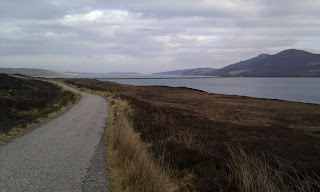 Northward view of the Kyle of Tongue and Causeway
