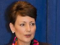 Duke Energy CEO, Lynn J. Good at Hood Hargett luncheon 14-04-02.