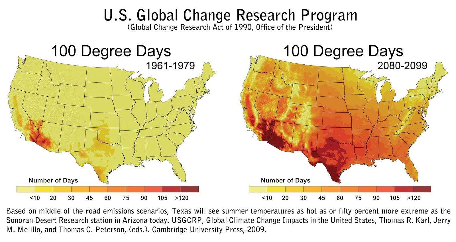 The Rag Blog Bruce Melton Climate Change Texas The WorstCase - Sonoran desert on us map