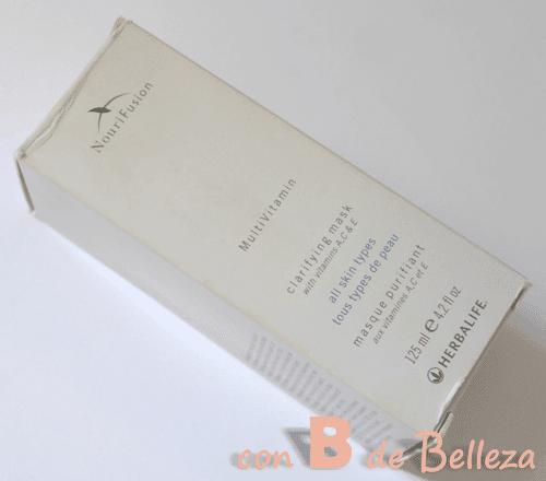 Mascarilla purificante Herbalife