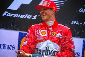 MICHAEL SCHUMACHER COMES OUT OF COME 6 MONTHS LATER: