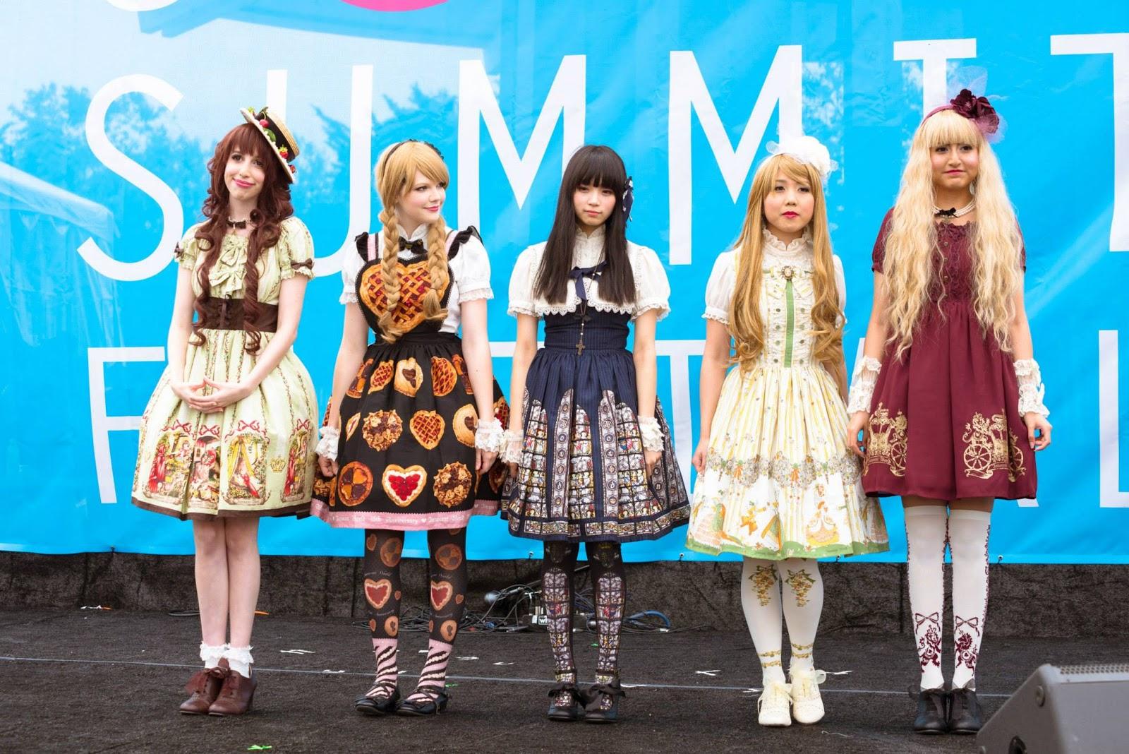 j pop summit, san francisco, harajuku fashion, japan, japanese, lolita, innocent world, fashion show