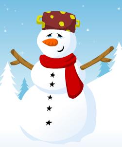 Vestir Boneco de neve