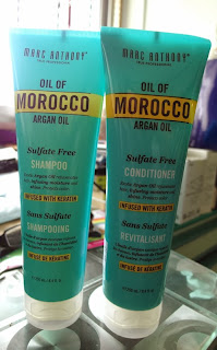 Marc Anthony Morocco Argan Oil Haircare Shampoo and Conditioner t review singapore lunarrive