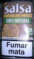 Tabaco sin aditivos Salsa