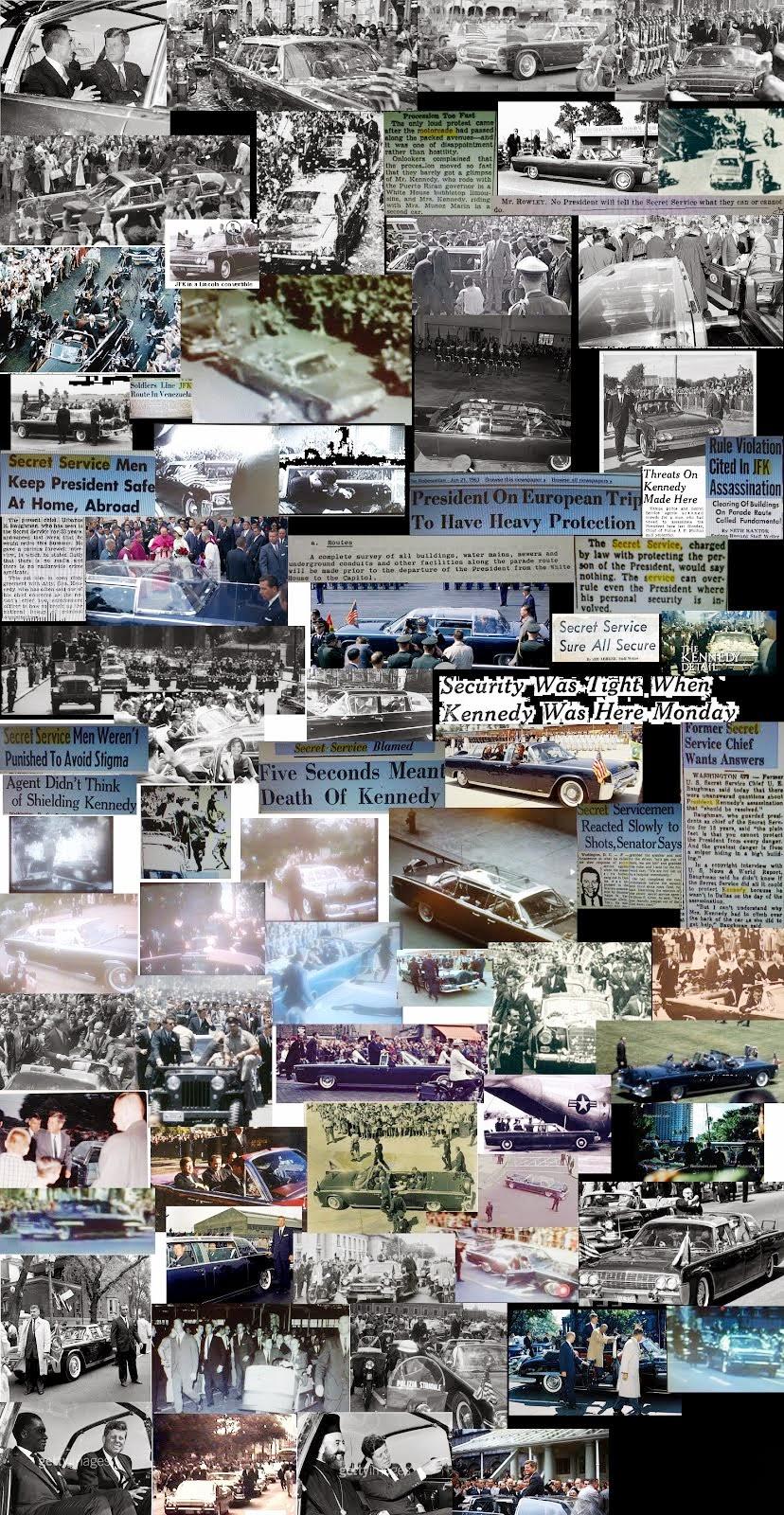 JFK Kennedy motorcades