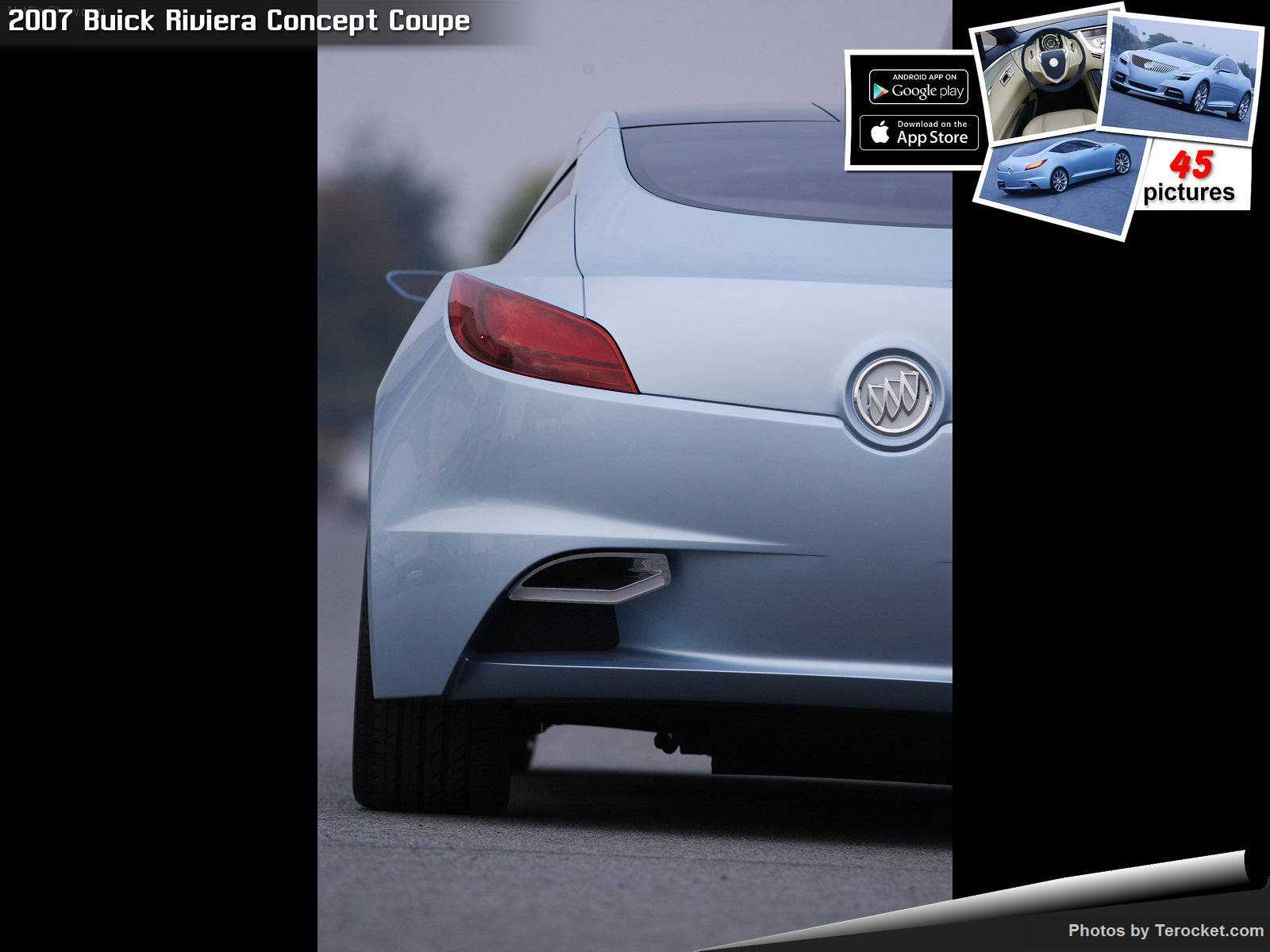 Hình ảnh xe ô tô Buick Riviera Concept Coupe 2007 & nội ngoại thất