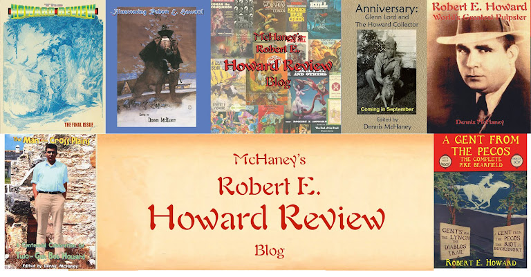 McHaney's Robert E. Howard Review Blog