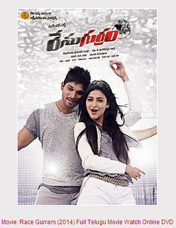 Race Gurram (2014) Full Telugu Movie Watch Online