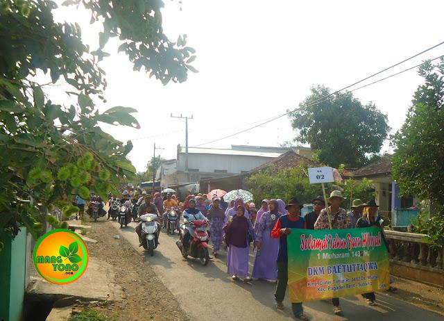 Meriahnya Pawai Peringati Tahun Baru Islam di Desa Munjul, Subang