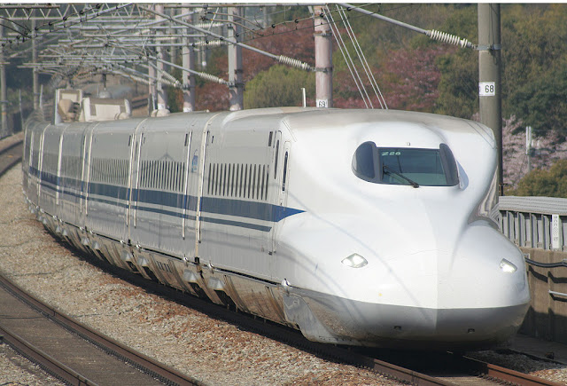 """Bullet train 'Shinkansen' Japan"""