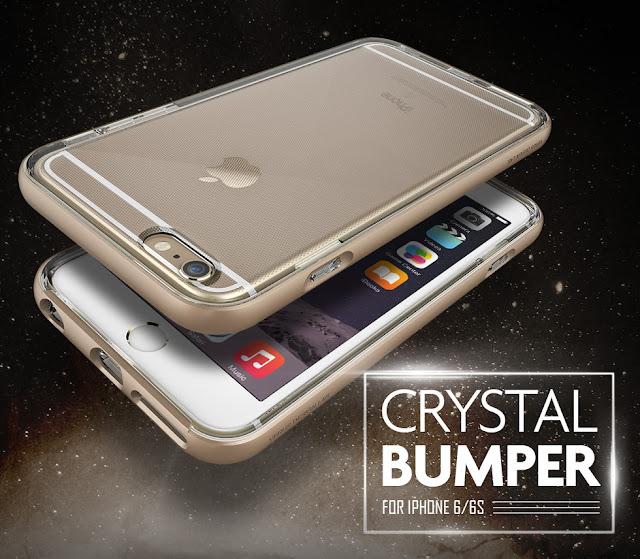 iphone 6s crystal bumper kılıf