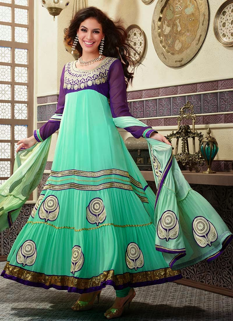 albarino net: Designer Amazing Wedding Anarkali Dresses 2013