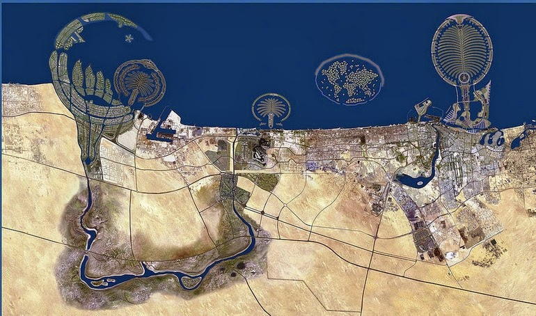 aerial photography - Dubai UAE