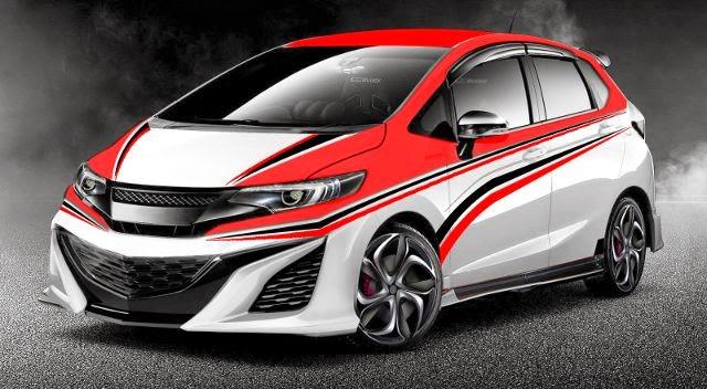 Modifikasi mobil Honda All New Jazz