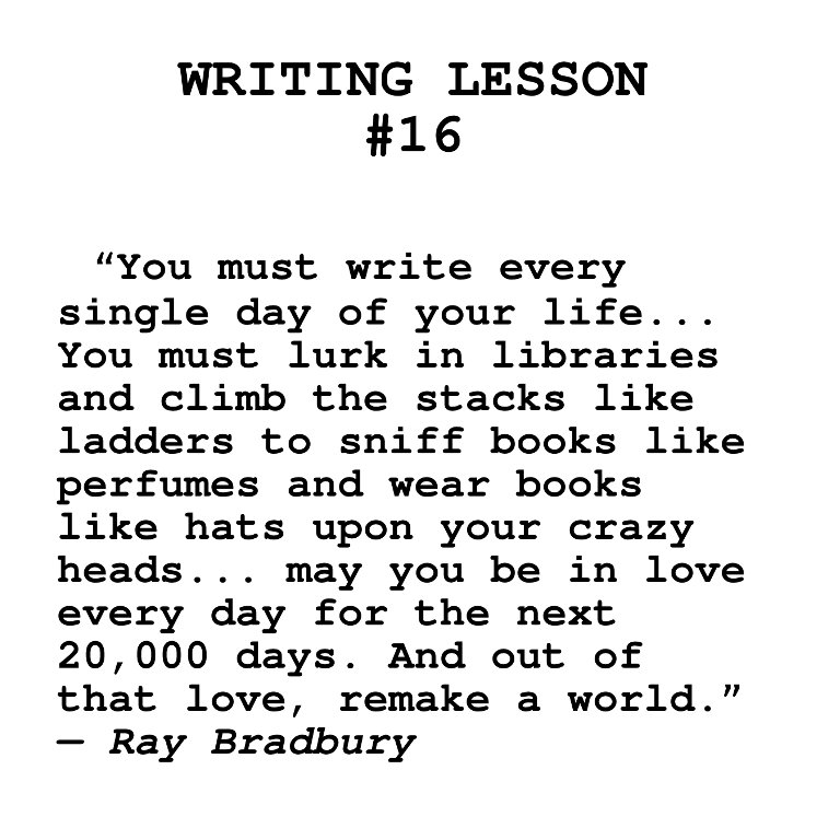 essays written by ray bradbury Watch video  american fantasy and horror author ray bradbury is best known for his novels nearly every piece in the magazine was written by bradbury essays, screenplays.