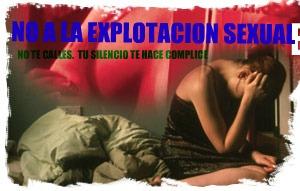 NO A LA EXPLOTACION SEXUAL