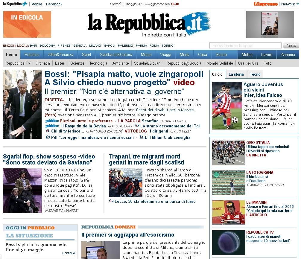 Bisogna avere un caos dentro per partorire una stella for Home page repubblica