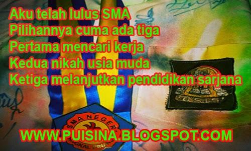 """Puisi Sahabat Aku Lulus SMA """"Edisi Arjuan Linglung"""""""