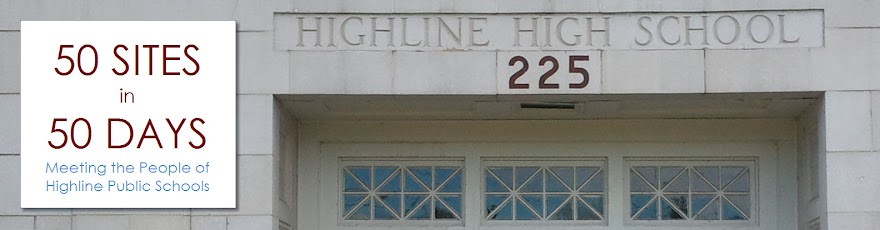 Highline School Superintendent Blog