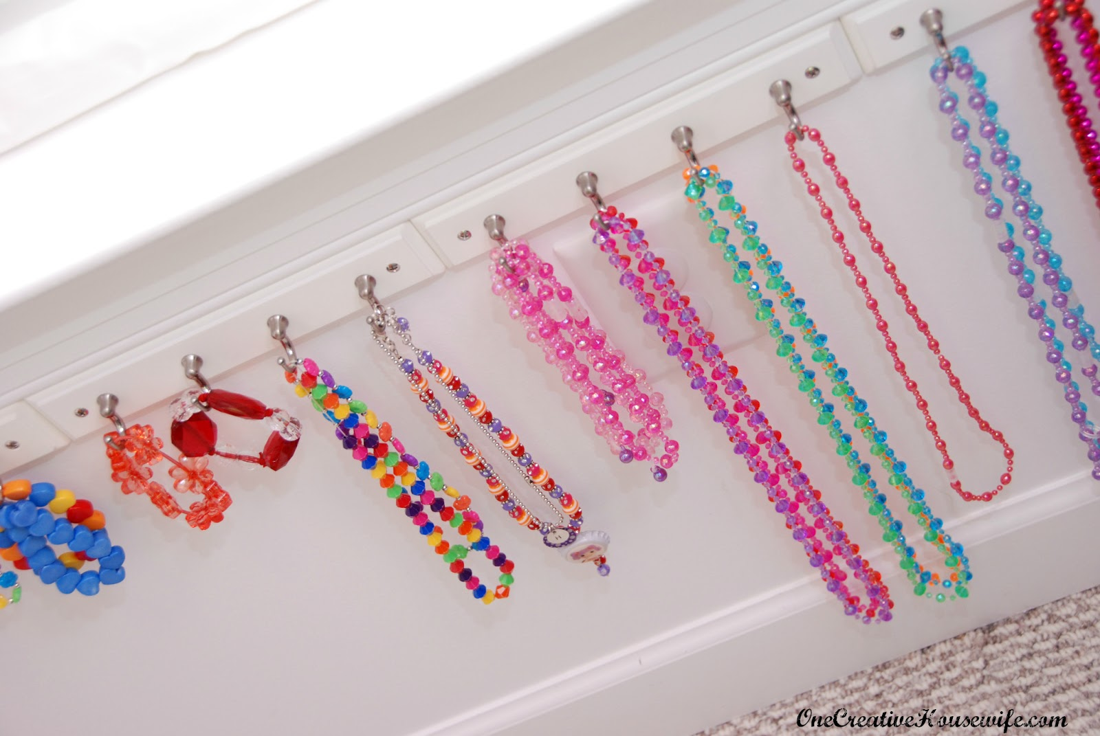 Over The Door Jewelry And Hair Accessories Organizer Jewelry Ideas