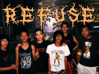 Refuse Band Metalcore / Hardcore bandung Foto Logo wallpaper