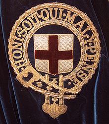 Ordinul jartierei, Order of tha Garter