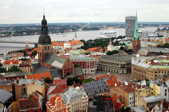 De visita por Riga Letonia