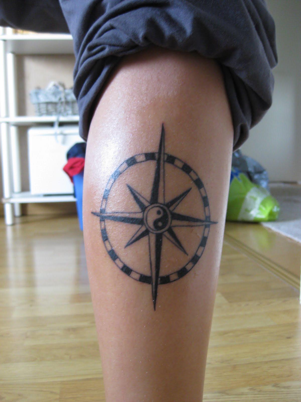 tatueringar på vaden
