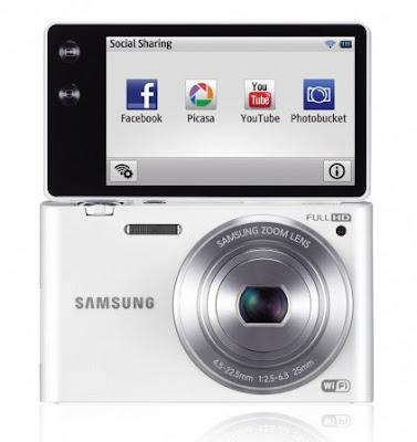 Samsung anuncia câmera MV900F Multiview com Wi-Fi