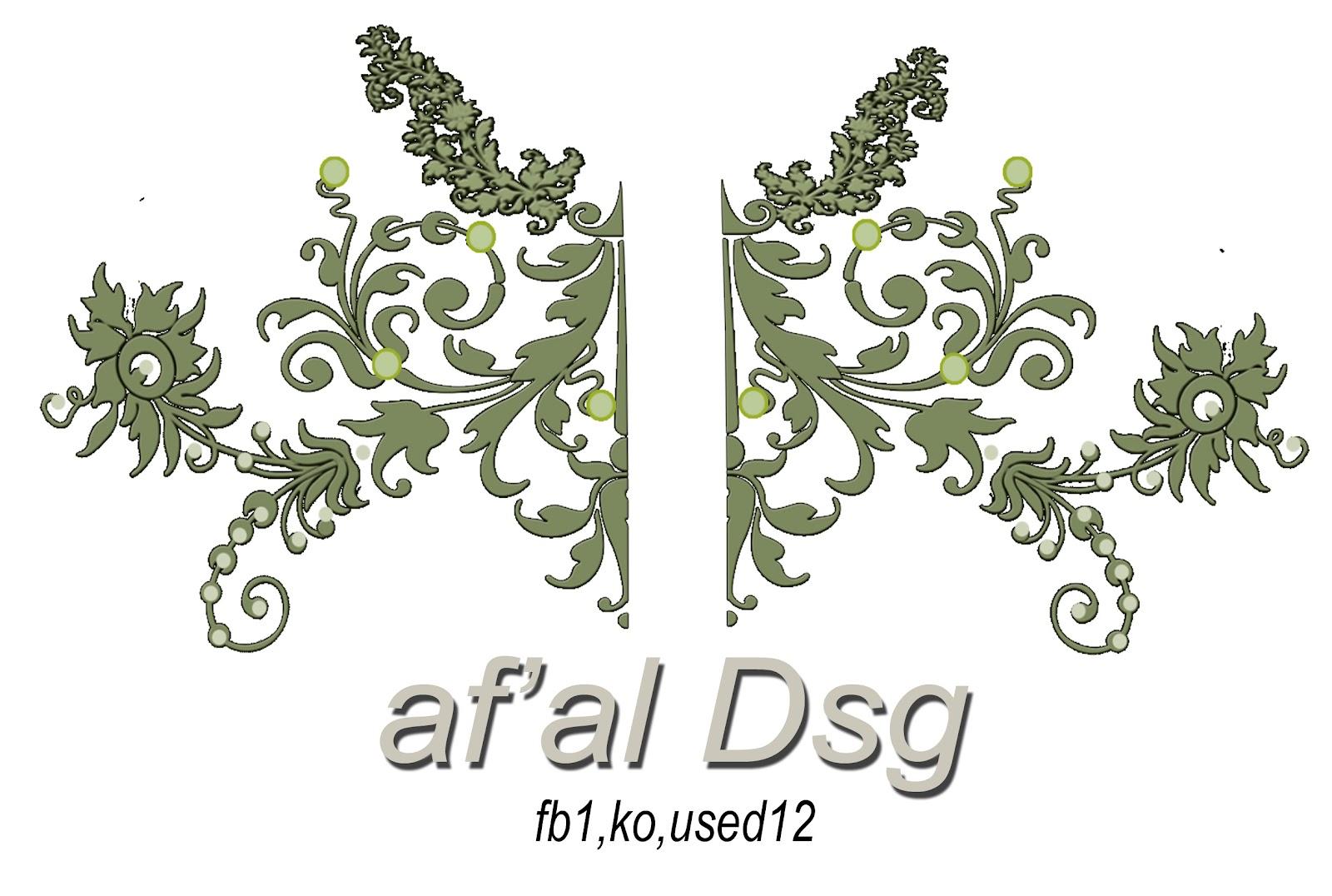 Contoh Design Motif Bordir Ornament Decoratif 2 | Tasikmalaya Bordir