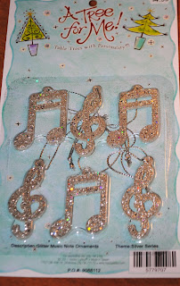 Music Note Ornaments