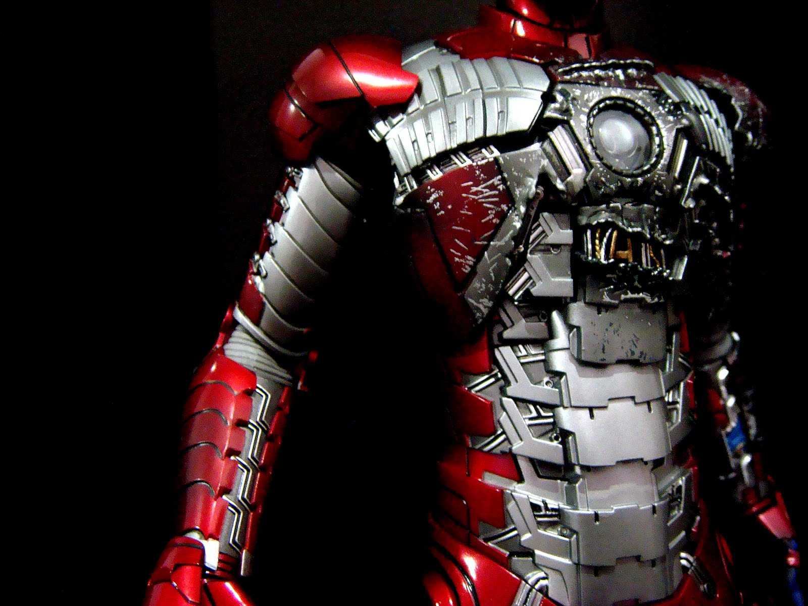 Mezzart Nerdick: Movie Masterpiece Iron Man 2 - Mark 5 ...