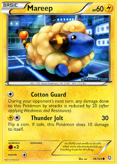 Mareep Dragons Exalted Pokemon Card