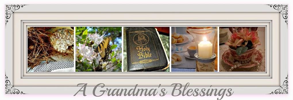 A Grandma's Blessings