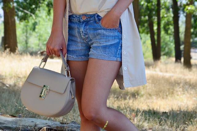 look-casual-verano-summer-shorts-denim-blogger