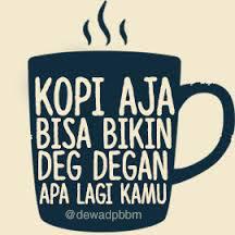 dp bbm cangkir kopi cinta