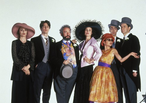 Rom coms and the real world review for Four weddings and a funeral director mike