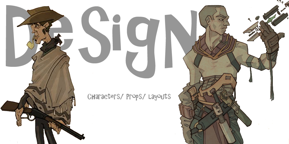 Design Character/Prop/Layout