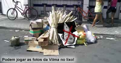 Triste fim para Vilma dos Santos