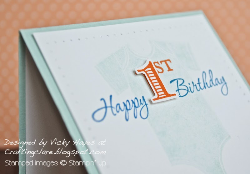 Personalise birthday or anniversary cards with Memorable Moments by Stampin' Up, available online from UK independent Stampin' Up demonstrator Vicky Hayes