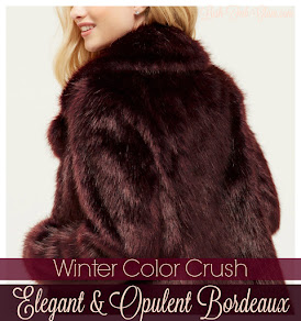 Winter Color Crush: Elegant & Opulent Bordeaux.