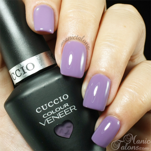 Cuccio Colour Veneer Peace, Love and Purple Swatch