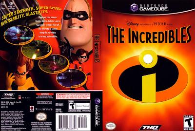 Jogo Os Incríveis GC DVD Capa